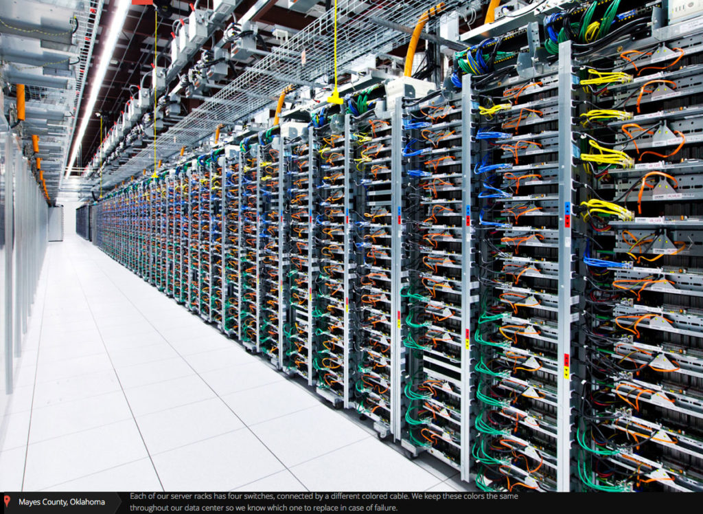 Carlson Communication Data Center Cabling